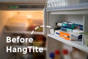 HangTite से पहले फ्रिज में इंसुलिन की तस्वीर