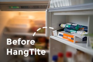 Foto de la insulina en la nevera antes de HangTite