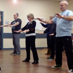 Photo of Tai Chi Class - Obesity Now Ties Cancer as Top Health Threat
