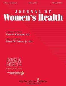 Couverture: Journal de la santé des femmes