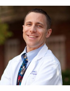 Photo of Mark DeBoer, M.D., of the University of Virginia School of Medicine and the UVA Children's Hospital, is one of the creators of the online risk calculator.