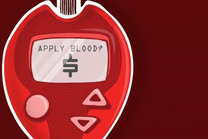 Finger Blood Test for Type 2 Diabetes