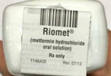 Riomet Metformin Recall