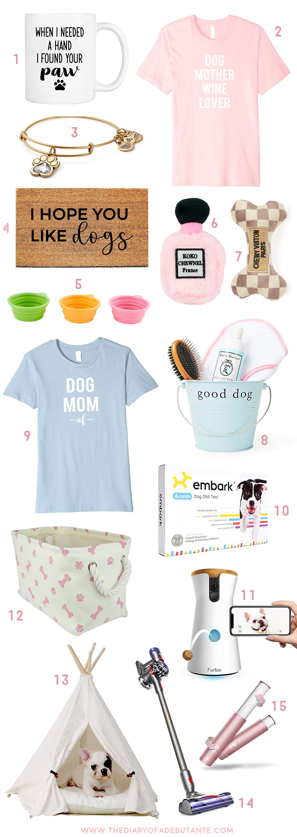 17 Cute Gift Ideas For Dog Moms Diary Of A Debutante
