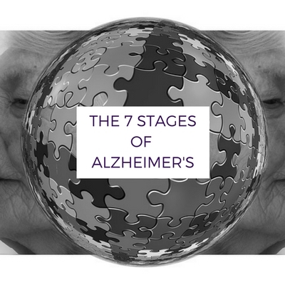 THE 7 STAGES OF ALZHEIMERS DISEASE