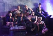 """SHADOWHUNTERS - """"The Mortal Cup"""" - One young woman realizes how dark the city can really be when she learns the truth about her past in the series premiere of """"Shadowhunters"""" on Tuesday, January 12th at 9:00 - 10:00 PM ET/PT. ABC Family is becoming Freeform in January 2016. Based on the bestselling young adult fantasy book series The Mortal Instruments by Cassandra Clare, """"Shadowhunters"""" follows Clary Fray, who finds out on her birthday that she is not who she thinks she is but rather comes from a long line of Shadowhunters - human-angel hybrids who hunt down demons. Now thrown into the world of demon hunting after her mother is kidnapped, Clary must rely on the mysterious Jace and his fellow Shadowhunters Isabelle and Alec to navigate this new dark world. With her best friend Simon in tow, Clary must now live among faeries, warlocks, vampires and werewolves to find answers that could help her find her mother. Nothing is as it seems, including her close family friend Luke who knows more than he is letting on, as well as the enigmatic warlock Magnus Bane who could hold the key to unlocking Clary's past. (ABC Family/John Medland) CENTER: HARRY SHUM JR."""