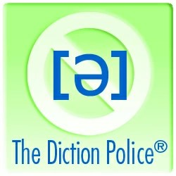 The Diction Police logo