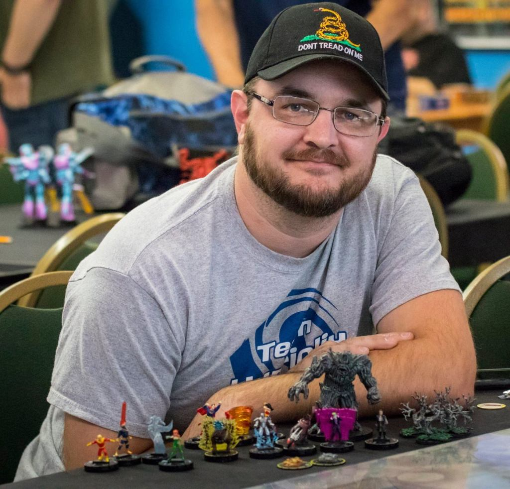 Warren Ginn 2017 Heroclix Teams World Champion