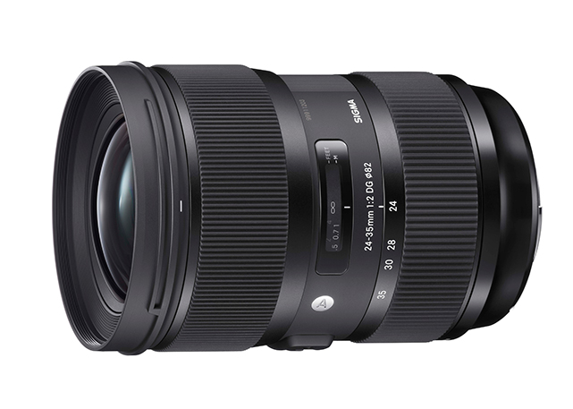 Sigma 24-35 mm f / 2 DG HSM Art