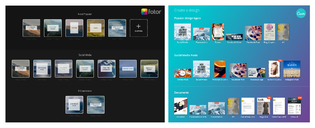 Fotor vs Canva