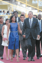 President Anthony Carmona , First Lady and his 2 children