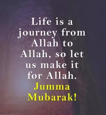 jumma mubarak English Quotes