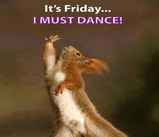 It's Friday Must Dance