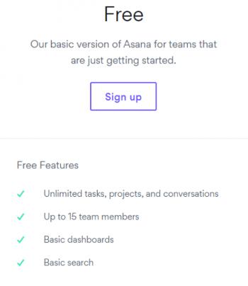 asana free