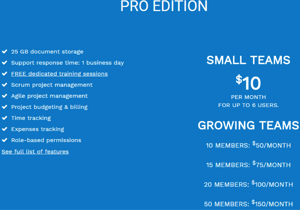 nutcache pro pricing