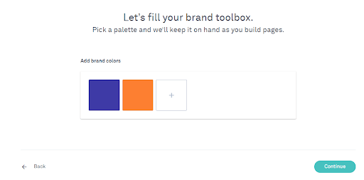Leadpages-pick-brand-colors