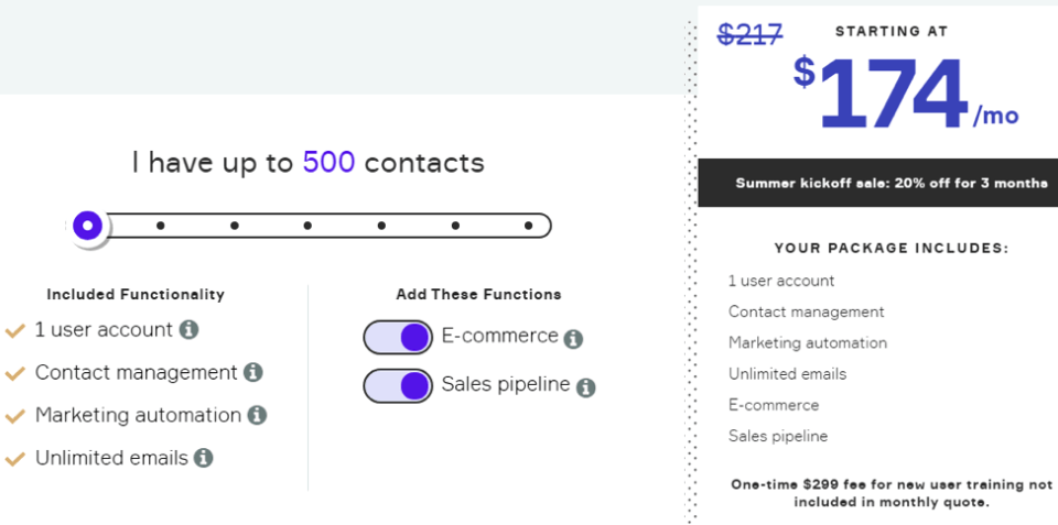 ecommerce pricing plans