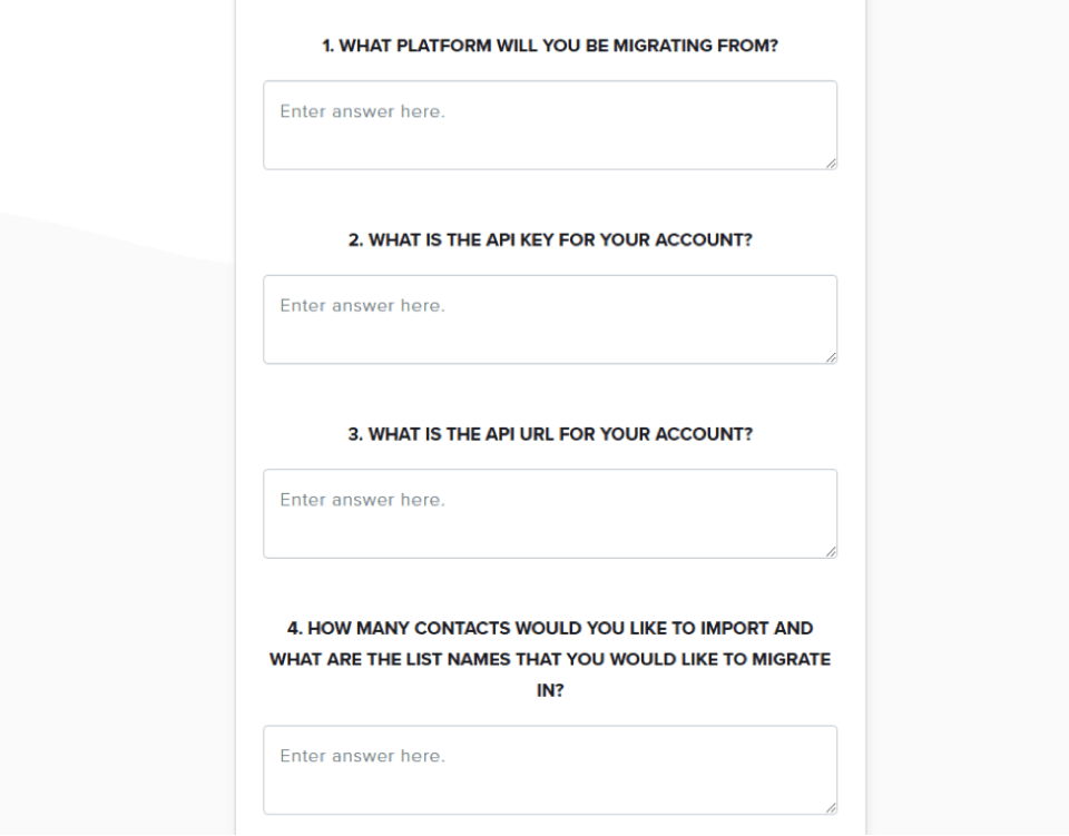 sendlane survey