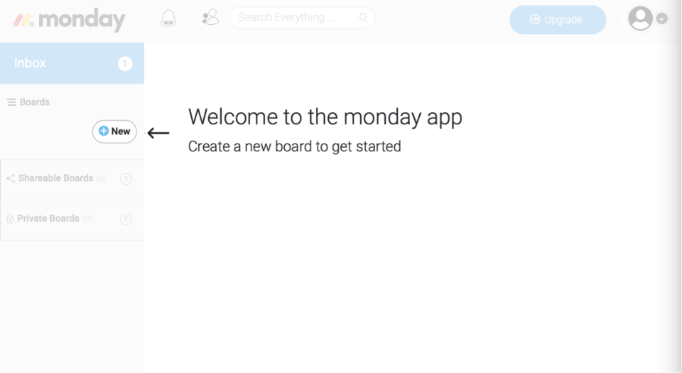 welcome monday app