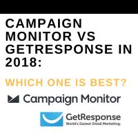CAMPAIGN MONITOR VS GETRESPONSE