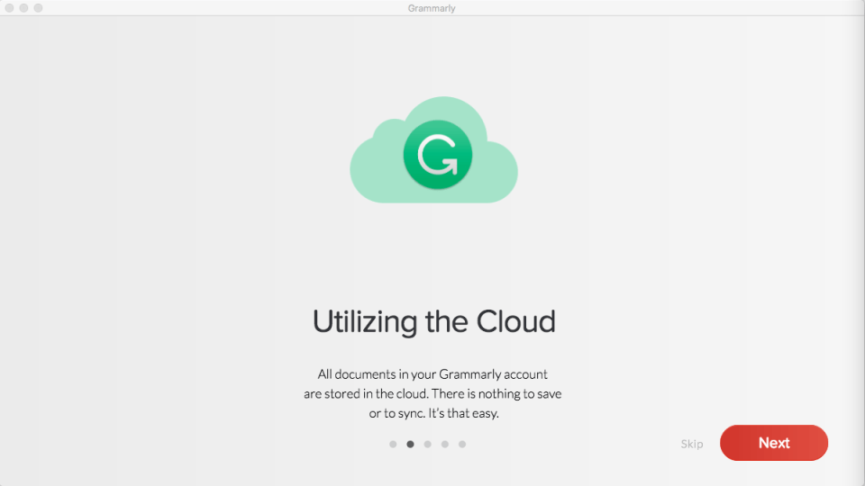 Grammarly Mac App