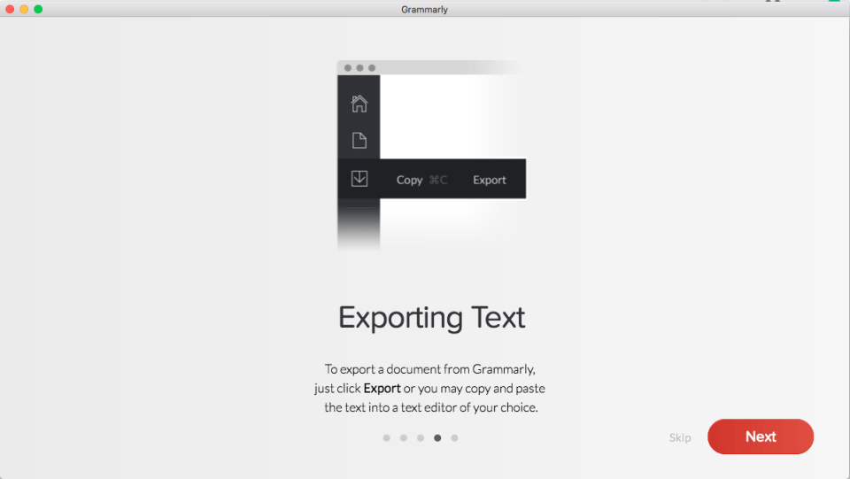 Grammarly Mac Setup