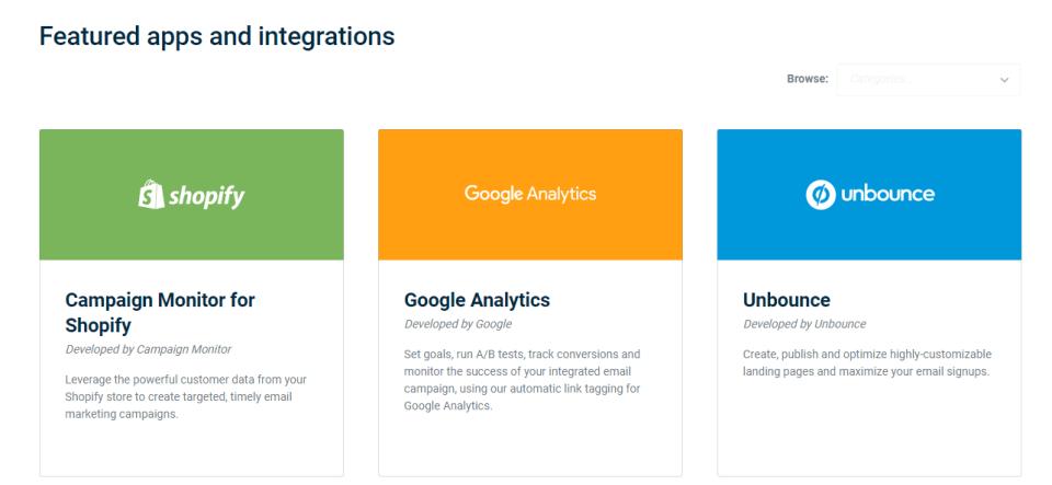 Campaign-Monitor-Integrations