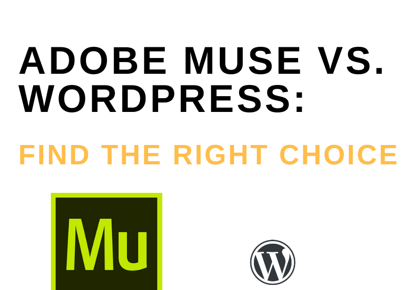 Adobe Muse Vs Wordpress
