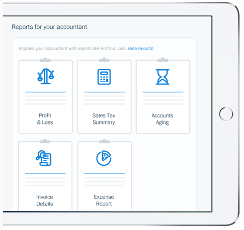 freshbooks report feature