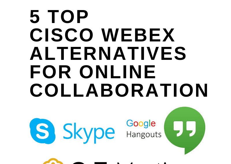 5 Top Cisco WebEx Alternatives For Online Collaboration
