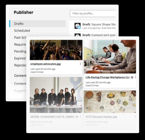 hootsuite publisher