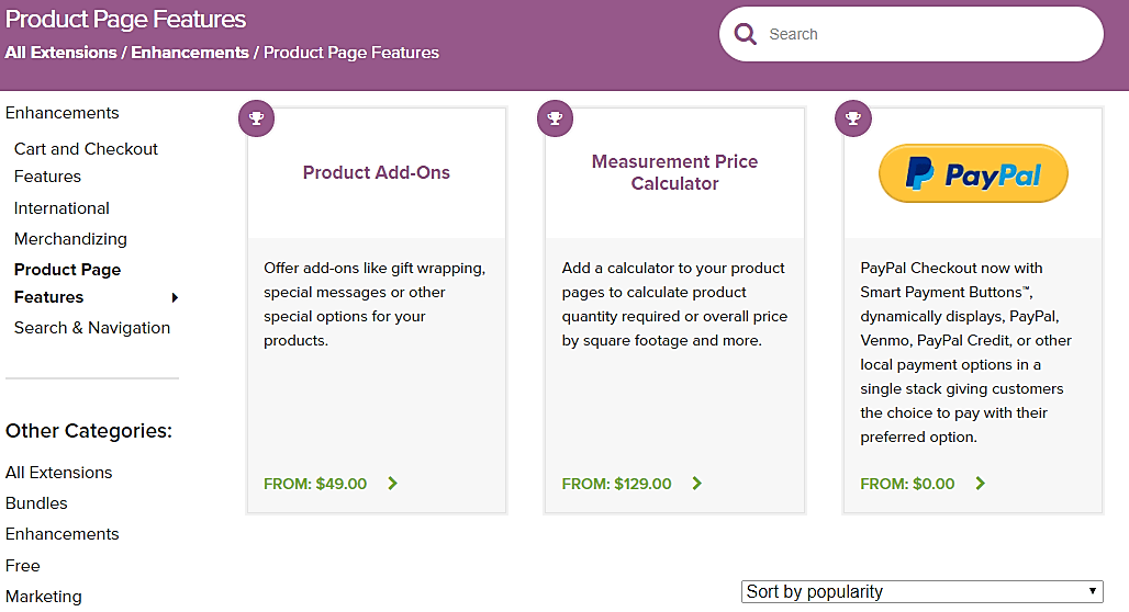 WooCommerce Product Page Features