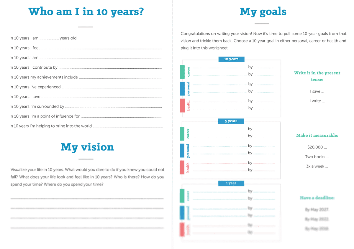 Discover the secret to setting goals and achieving them the goal setting worksheet geenschuldenfo Images