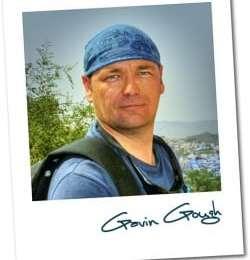 Tomorrow's Guest Blogger; Gavin Gough