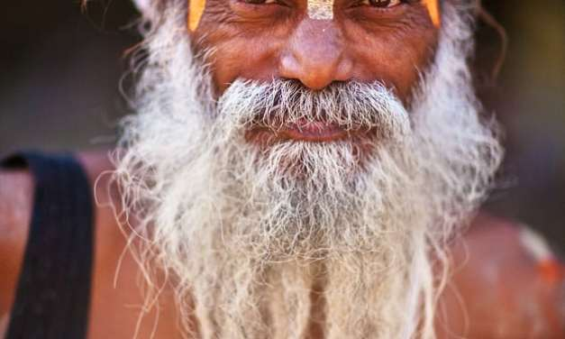 Sadhu Portrait #2