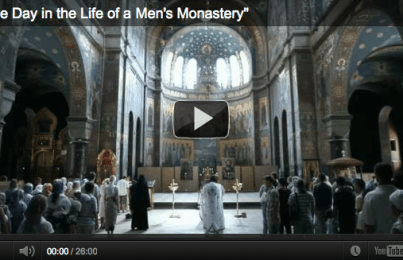 One Day in the Life of a Man's Monastery