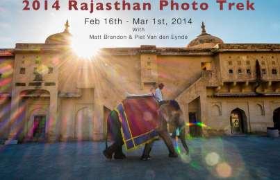 Rajasthan Photo Trek 2014 Announced