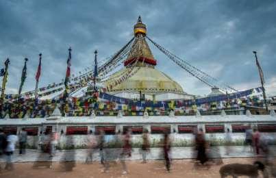 Redux: Kathmandu's Boudhanath Stupa