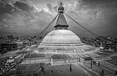 Kathmandu: In Black and White