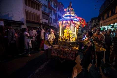Thaipusam Festival, Georgetown, Penang