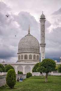 The Shrine of Hazrat Bal.