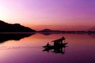 Dal Lake sunset