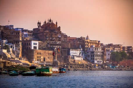 Varanasi from the Ganges
