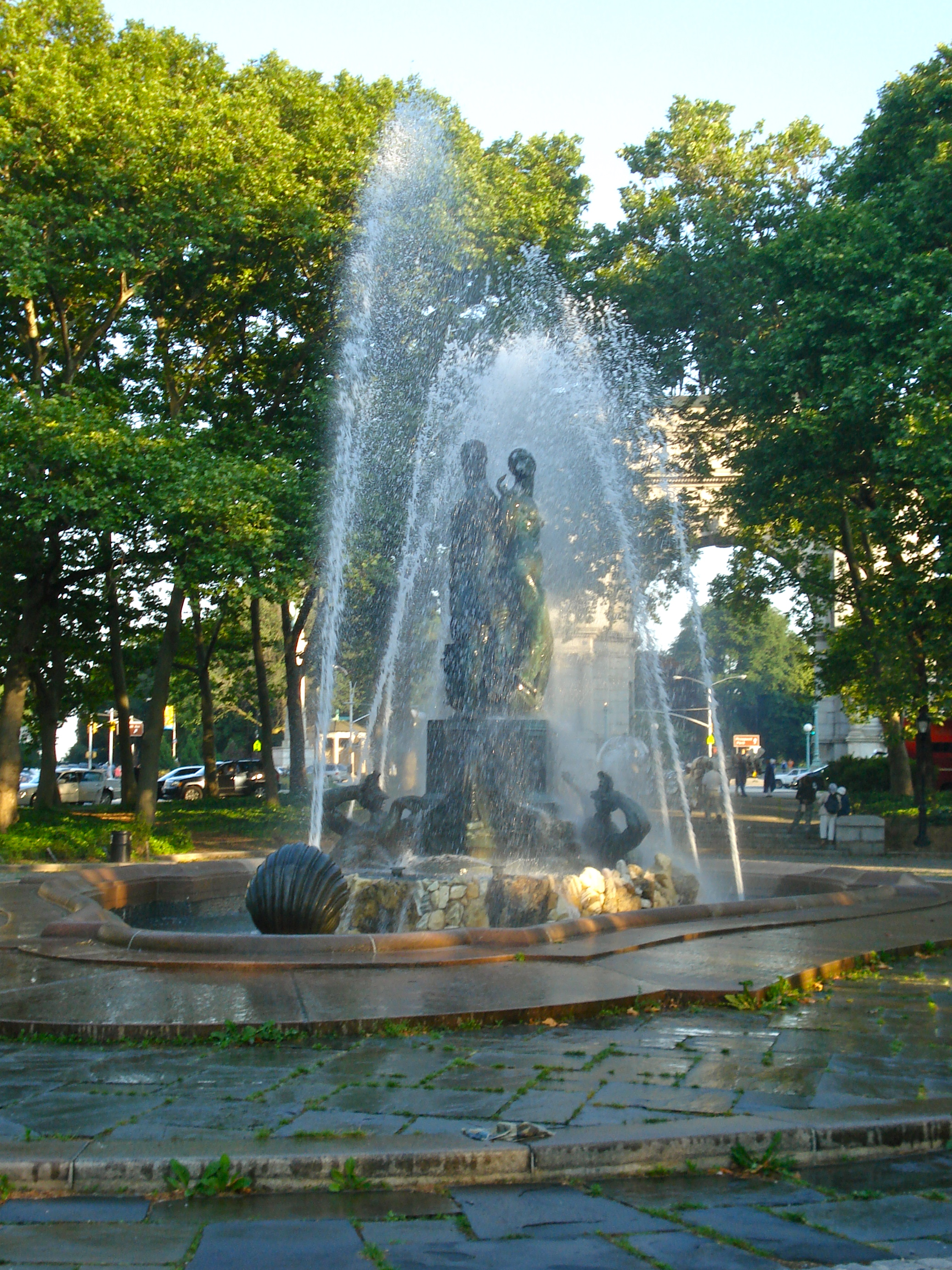 The Fountain at Grand Army Plaza.