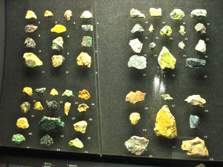 Pretty radioactive rocks!