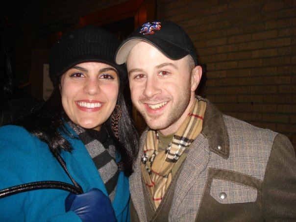 My sister Jessica with her friend Gray, one of the chorus members of the newly-minted Best Musical, Billy Elliot.