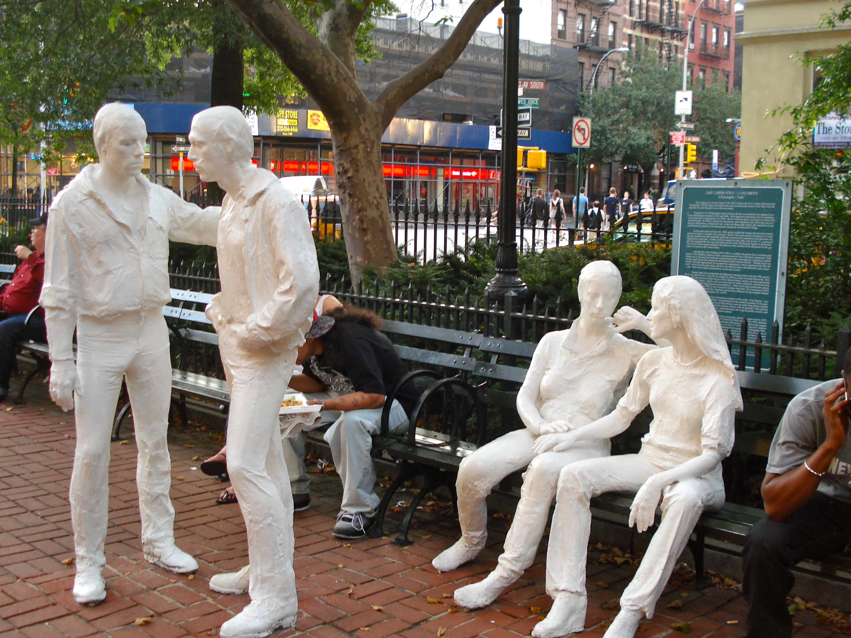 The park is located right in front of the Stonewall Inn.