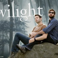 Photoshop Lessons - How To Make A Sparkly Vampire Twilight Poster