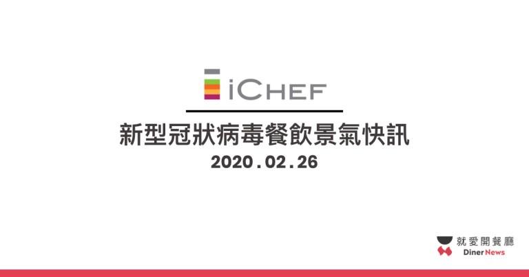 「2020 新型冠狀病毒」肺炎疫情餐飲景氣快訊-0226
