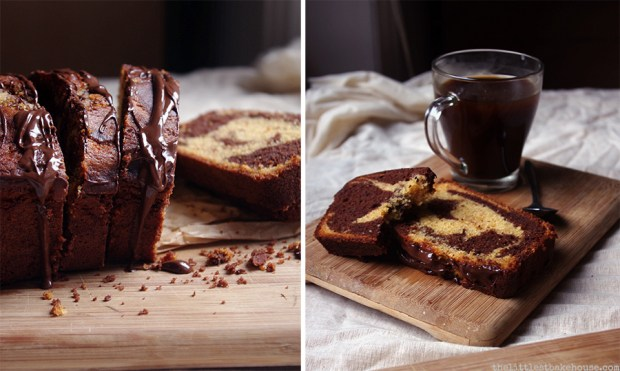 Chocolate orange swirl cake // The Dinner Bell